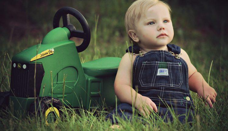 En gåvogn er god for barnets udvikling