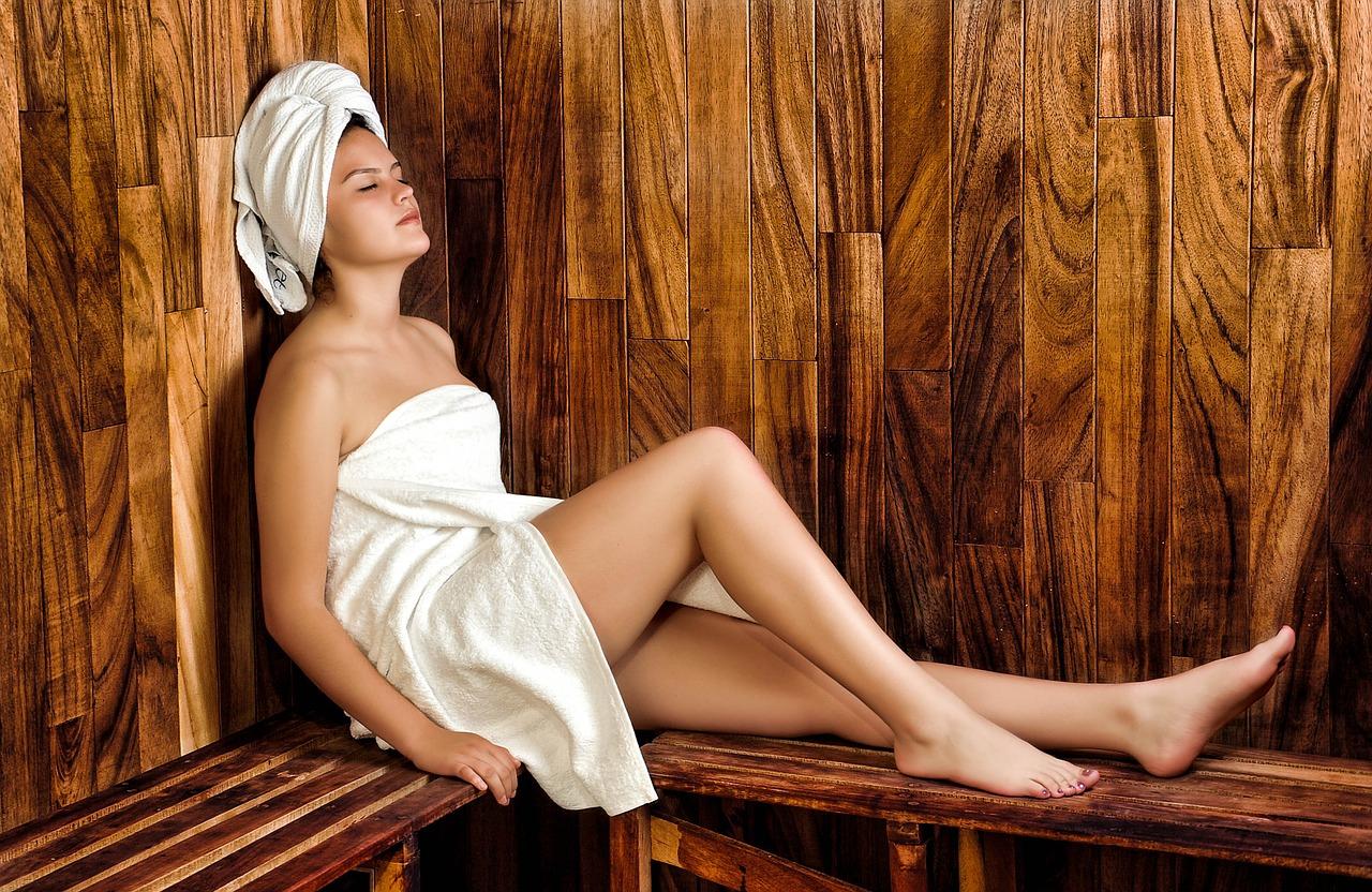 sauna-kvinde