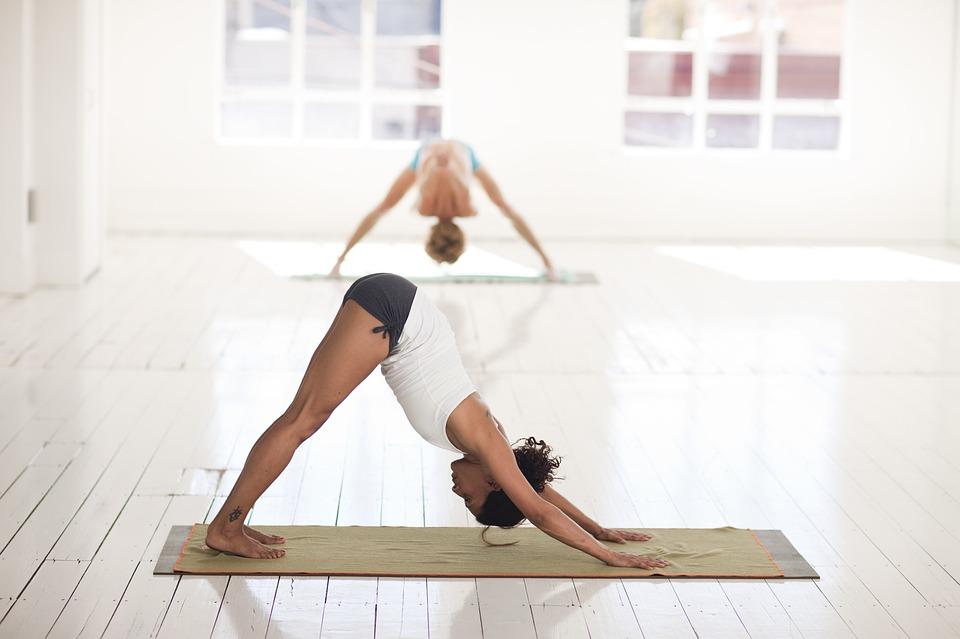 sund krop med yoga