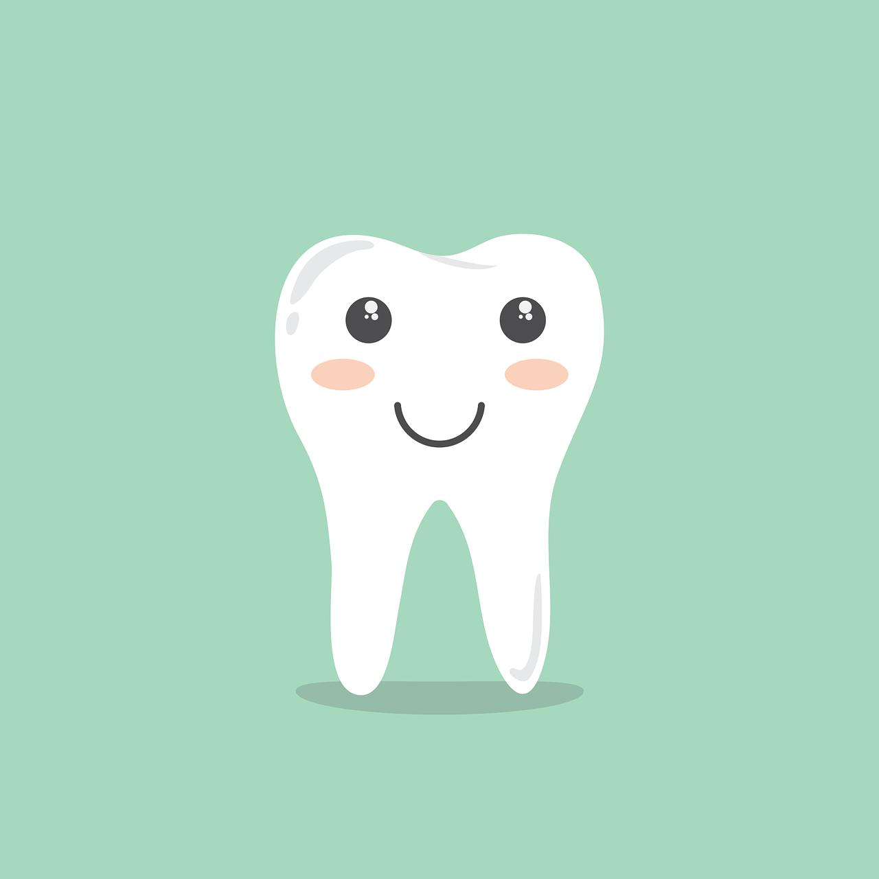 Glade tænder