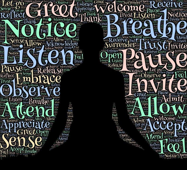 mediterende ord