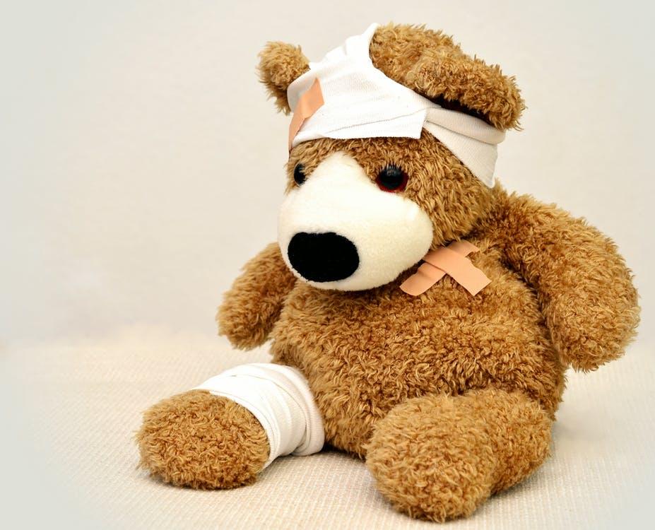 bjørn i smerte