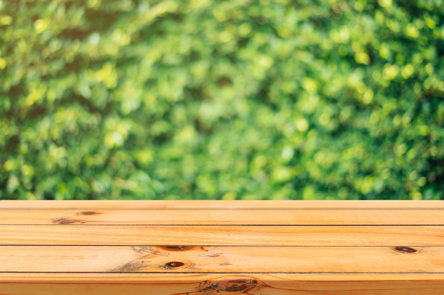 Naturligt plankebord